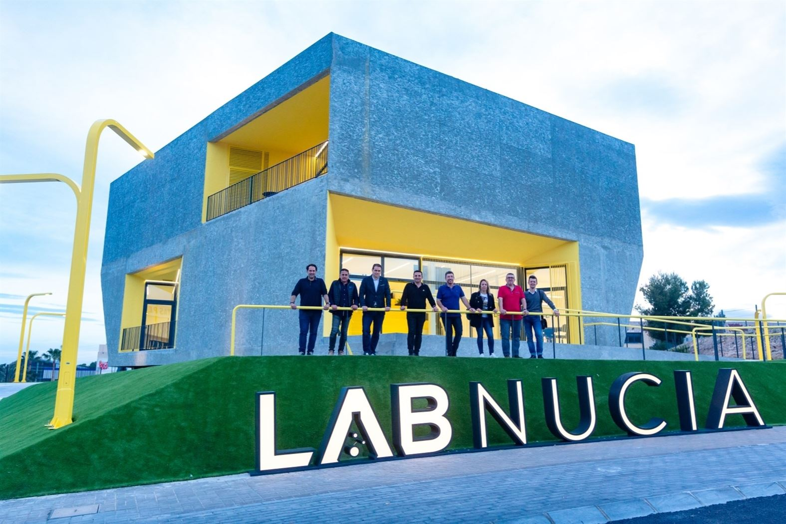 LAB_NUCIA - Edificio interior