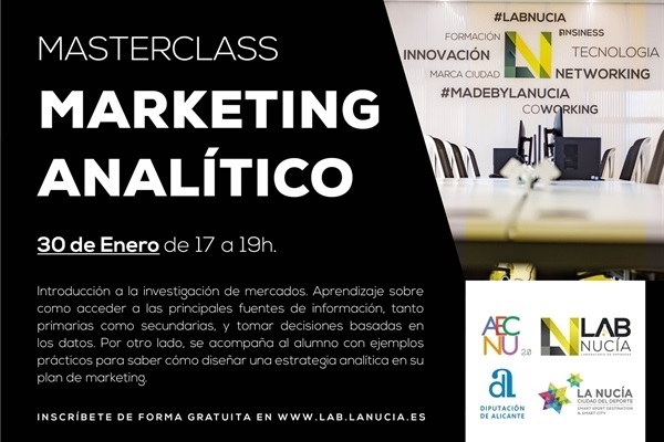 MASTERCLASS: Marketing Analítico